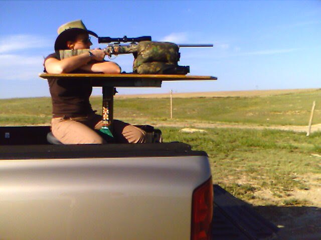 That's a .204 varminting rifle.  It's WAY, WAY easier with a .308.  It's easier yet with a .338 Lapua.