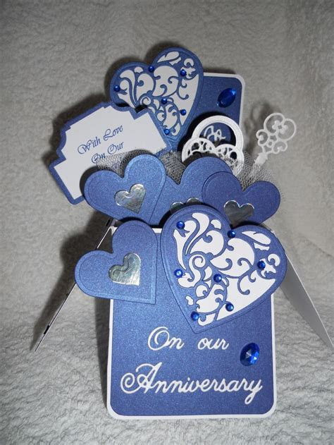 35 best anniversary cards images on Pinterest   Homemade