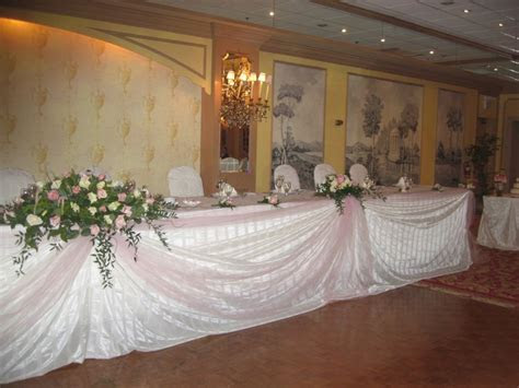 View Wedding Decor   Head Table Decor   Best for Bride