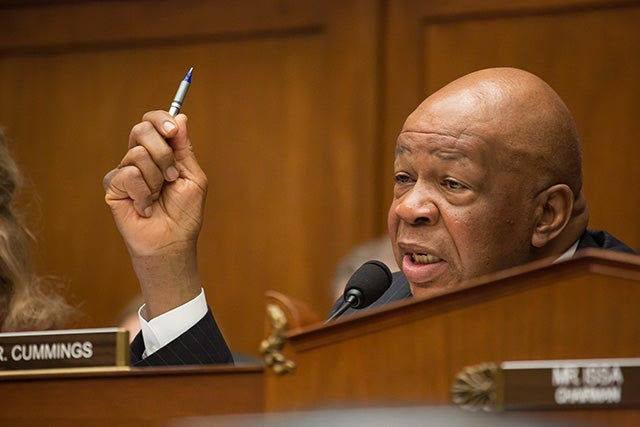 Rep. Elijah Cummings (D-MD) (Photo: Jeff Malet Photography/Newscom)