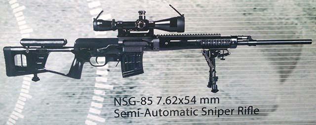 China NSG-85 Euosatory 2014