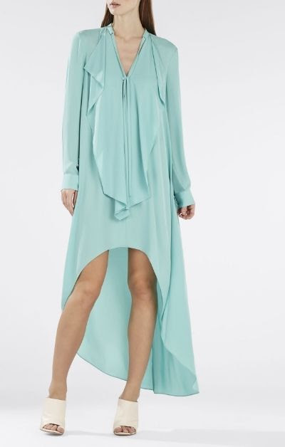 BCBGMAXAZRIA Kailene High-Low Dress