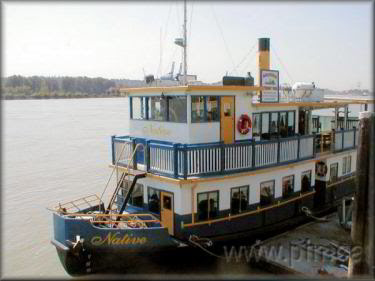 Paddlewheeler Riverboat