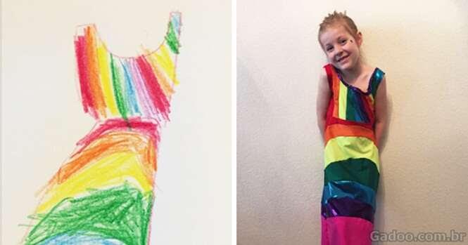 Empresa permite que crianças criem suas próprias peças de roupas