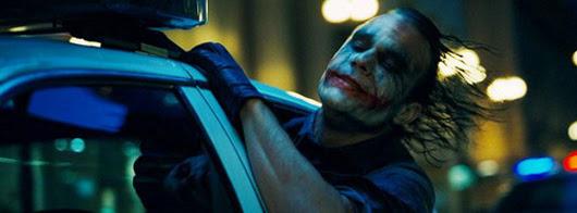 Heath Ledger como el Guasón en 'Batman, el caballero de la noche'