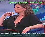 Maria Botelho Moniz sensual no programa passadeira vermelha
