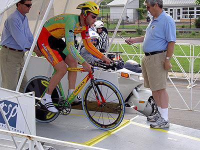 Kodak rider at start