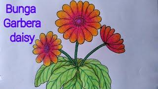 All Clip Of Menggambar Dan Mewarnai Bunga Dengan Crayon Bhclipcom