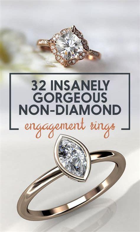 Best 25  Non diamond engagement rings ideas on Pinterest