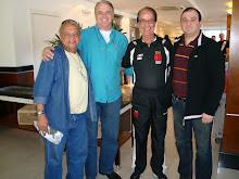 Com o Vasco em Florianópolis. 06 jul 08