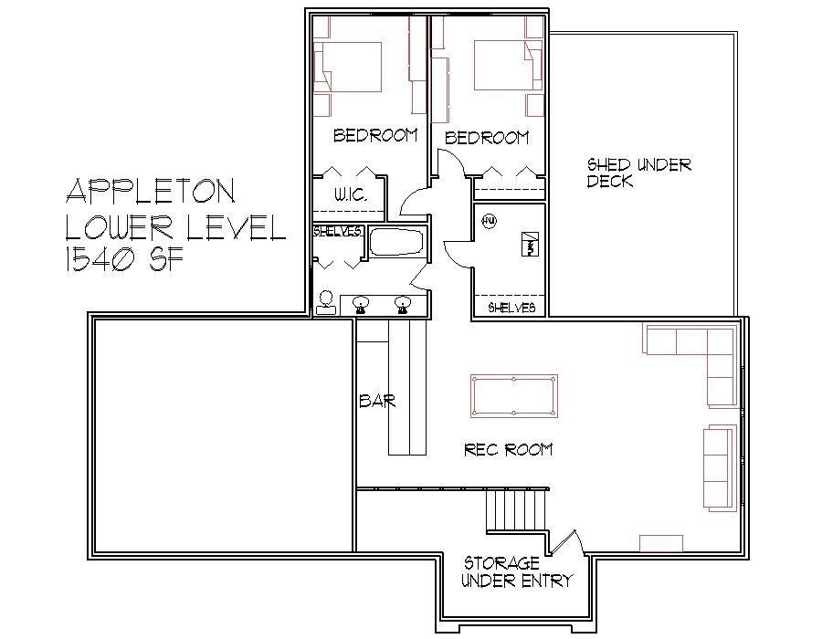 House Blueprints For Houses 3 Bedroom Home Floor Plans 2 Level Design
