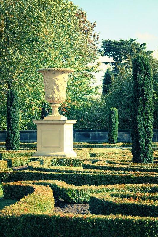 In the Italian Garden...
