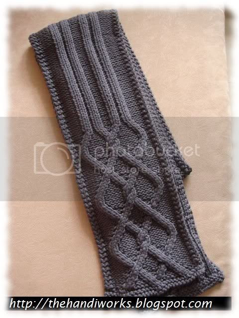 Basic scarf knitting in Singapore