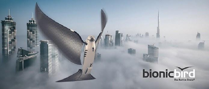 Bionic Bird, o drone que se parece um pássaro (Foto: Divulgação)