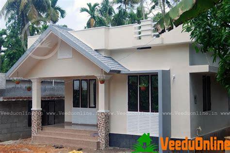small budget kerala home design  square feet