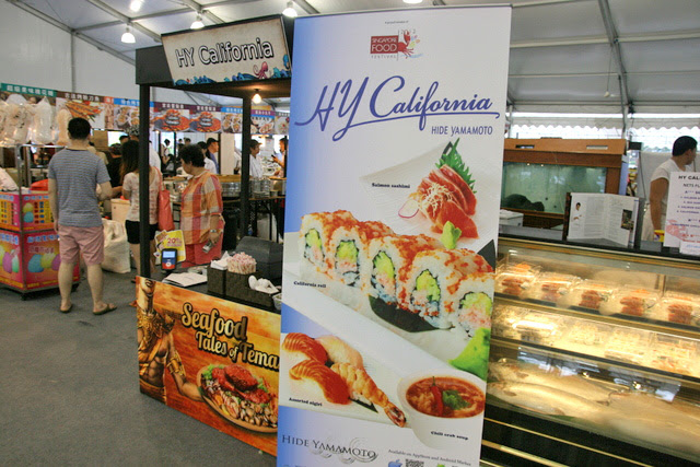HY California is at the Singapore Food Festival Village