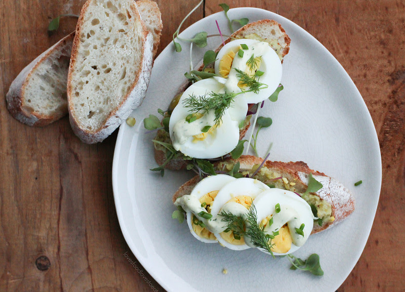 Deconstructed Egg Salad // Loves Food, Loves to Eat