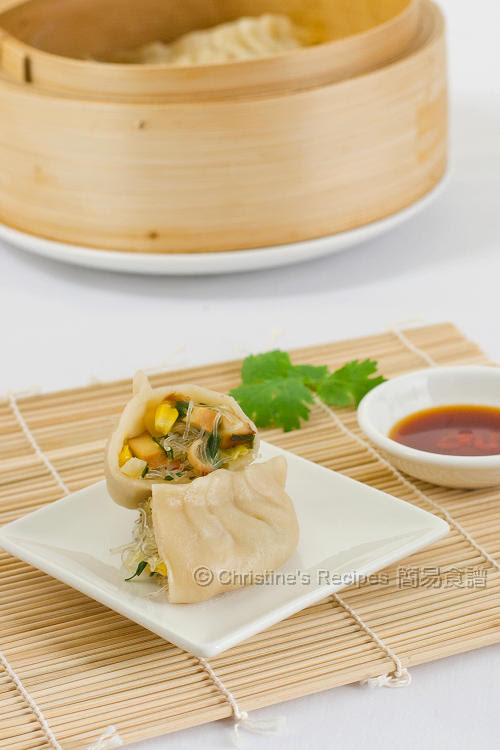 五彩蔬菜蒸餃 Steamed Vegetable Dumplings01