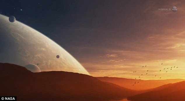 The video from NASA makes the point that if a rogue planet or asteroid was about to hit the Earth we would already be able to see it with our bare eyes