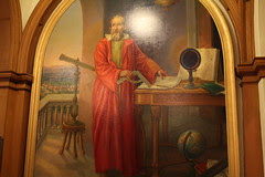 Mural of Galileo Galilei