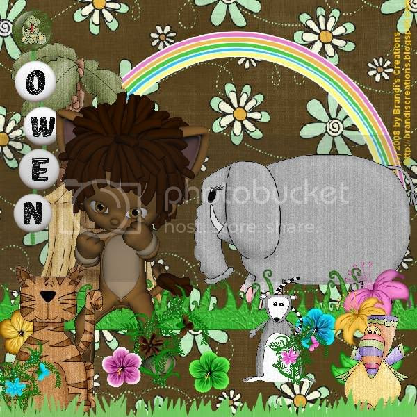 Jungle Love,Wizard of Oz,Lion,Kids Tags