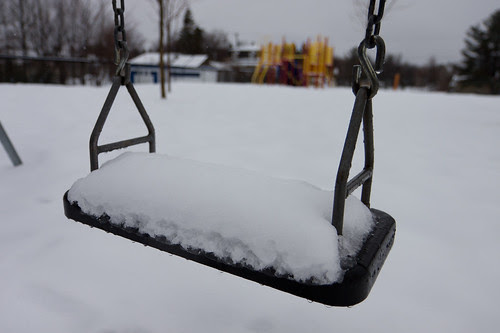 Winter is Back - What is a swing without spring?