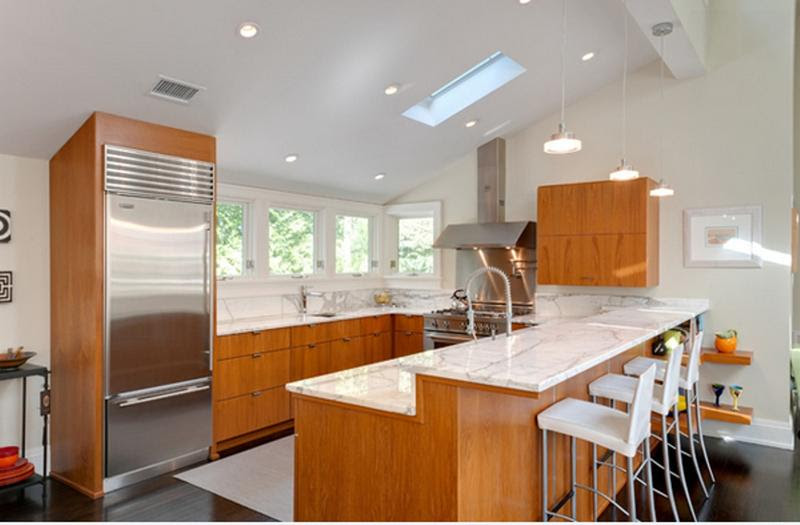 20 Functional U- Shaped Kitchen Design Ideas - Rilane