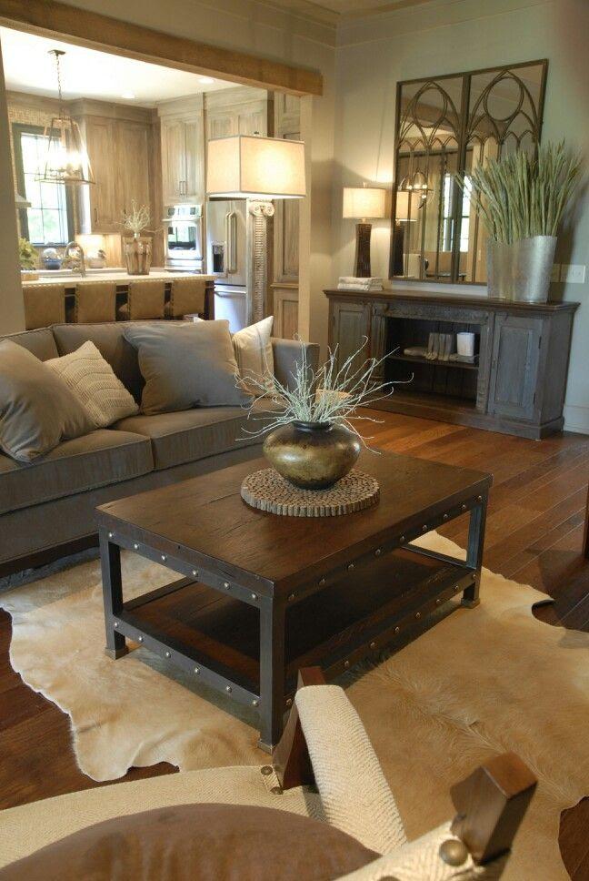 35 Classy Rustic Living Room Design Ideas - Interior Vogue