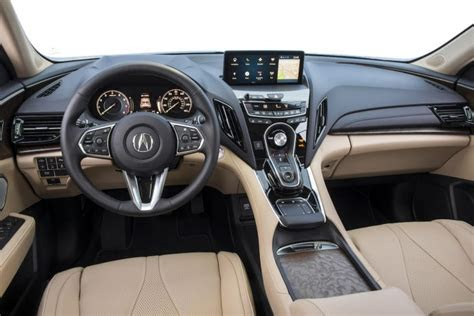 acura rdx review redesigned compact suv sets