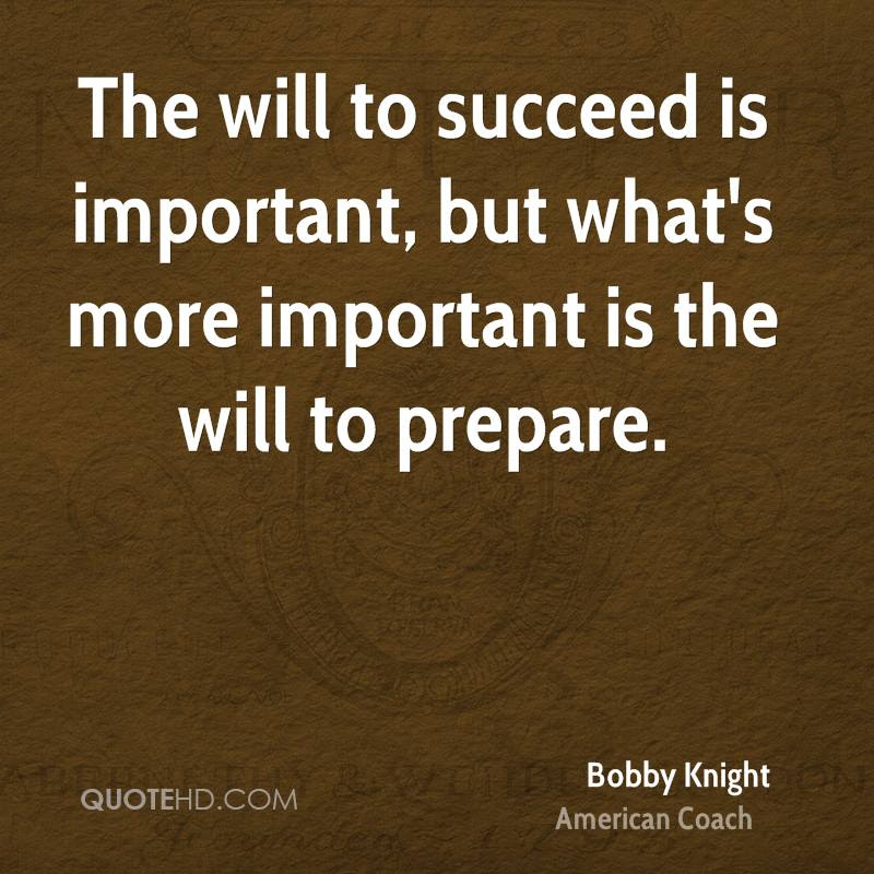 Bobby Knight Motivational Quotes Quotehd