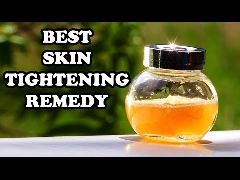 NATURAL DIY SKIN TIGHTENING HOME REMEDIES FOR FACE WITH HOMEMADE