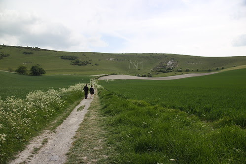 The Long Man of Wilmington with Simi and Anouck by ultraBobban