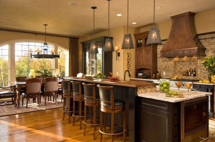 20 Beautiful Kitchens With Tuscan Decor - Housely