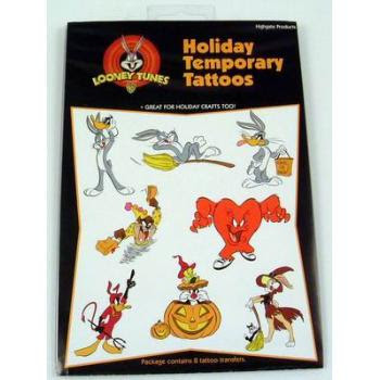 Wholesale Halloween Looney Tunes Temporary Tattoos (SKU 324425) DollarDays