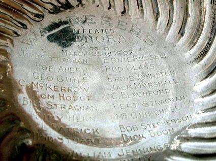 1907 Wanderers Cup Engraving, 1907 Wanderers Cup Engraving