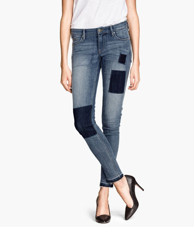 H&M patchwork jeans £19.99