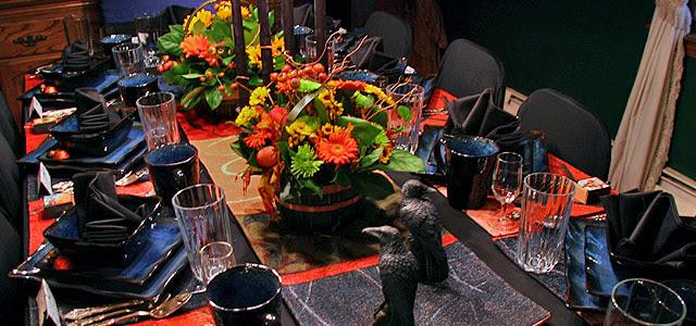 Late Harvest Festival Dining Table Décor