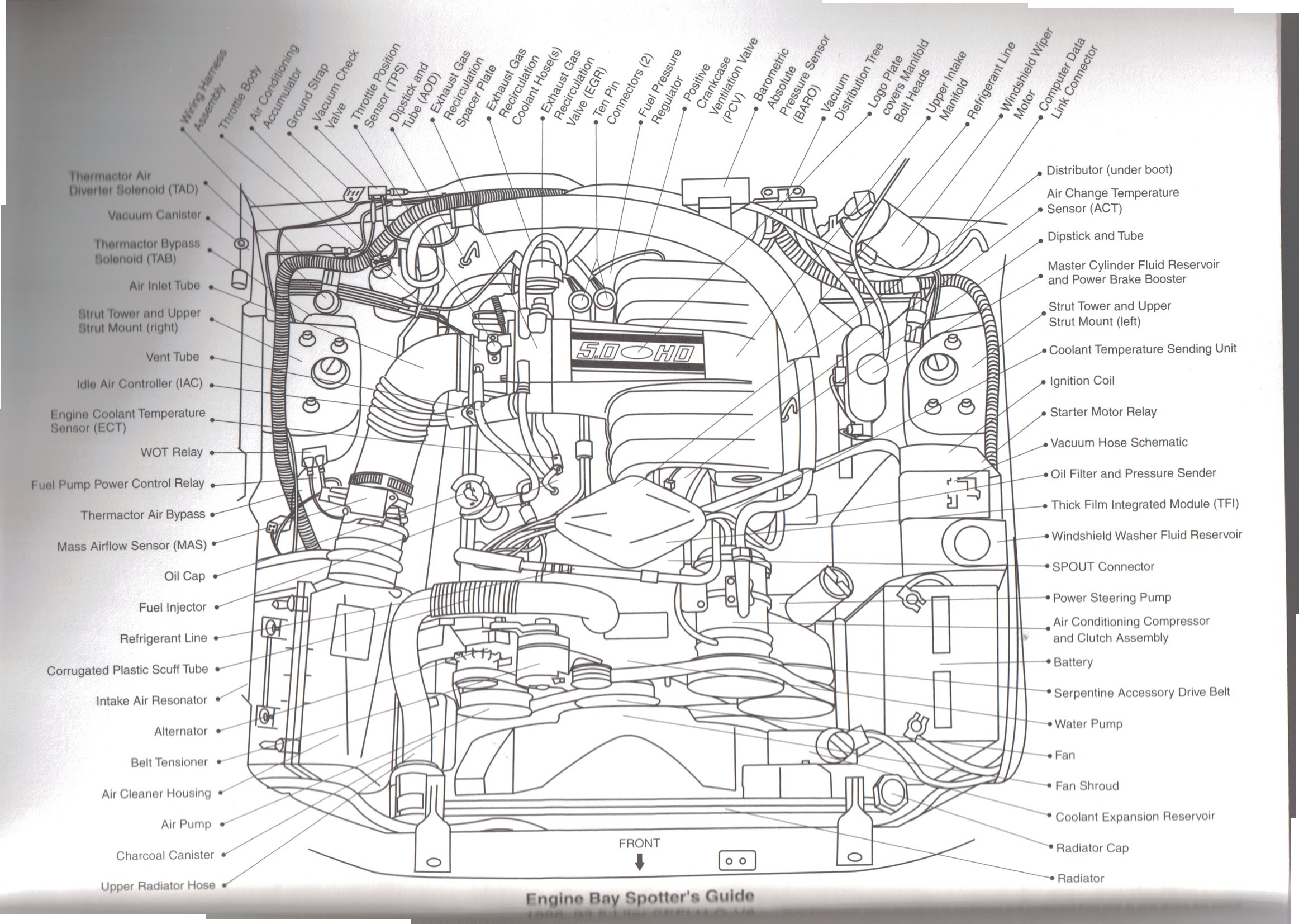 1995 F150 5 0 Engine Diagram