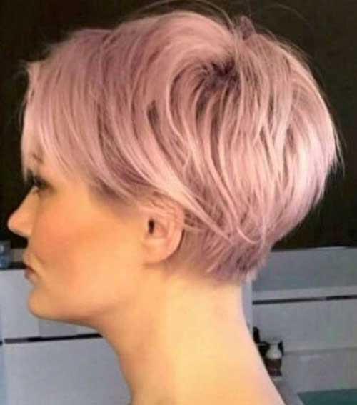Charmante Kurze Haarfarbe Ideen Frisuren Trends 2018