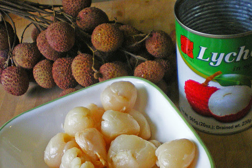 lychee closeup