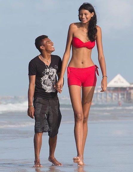 אליסאני דה קרוז סילבה - הנערה השנייה בגבוהה בעולם