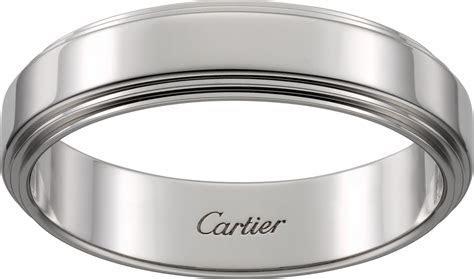 CRB4224200   Cartier d'Amour wedding ring   Platinum   Cartier