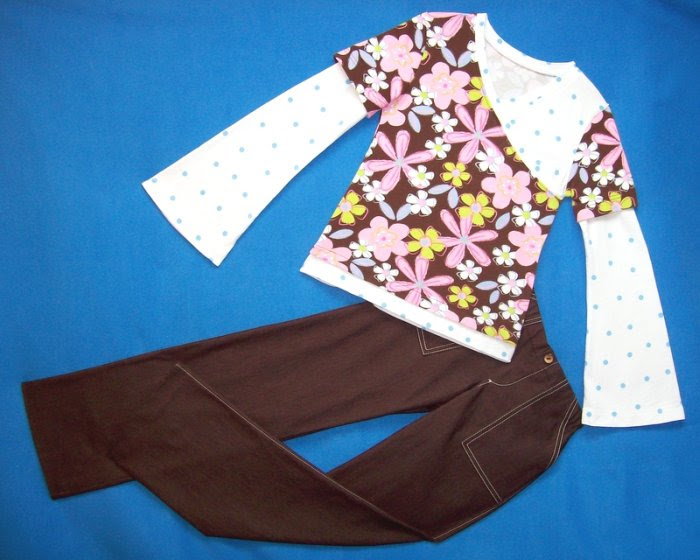 Willow's CrossOver Top and brown Pants