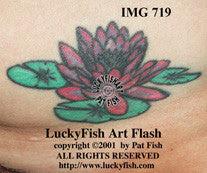 Lily Pad Tattoo Design Luckyfish Art
