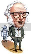 Isaac Asimov Cartoon