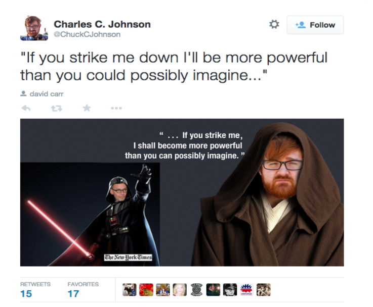 Chuck C Johnson Riles Up Internet With Libel Accusations Big Bad