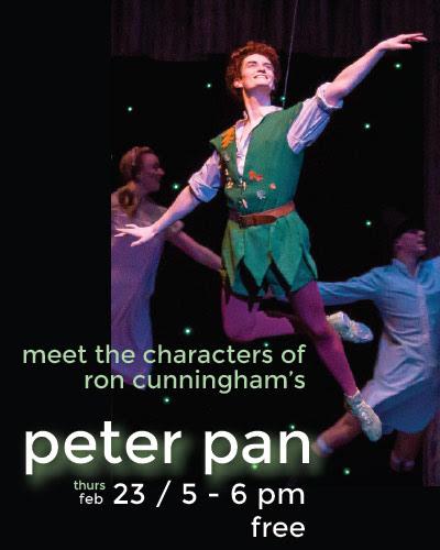Meet The Characters Of Ron Cunninghams Peter Pan Davis Arts Center