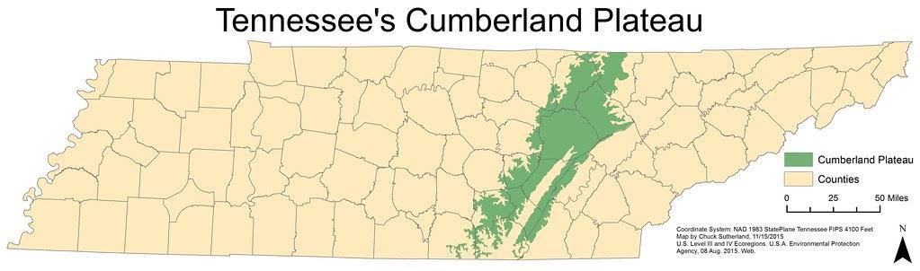 Chuck Sutherland: Tennessee\'s Cumberland Plateau