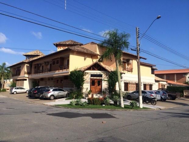 Renato Rocha estava hospedado desde o último dia 19 de fevereiro em Guarujá (Foto: Daniella Fiscarelli / G1)