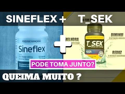 SINEFLEX e T SEK : Tudo Sobre a Combinação de Termogênico e Diurético. Pode tomar junto? Como tomar?